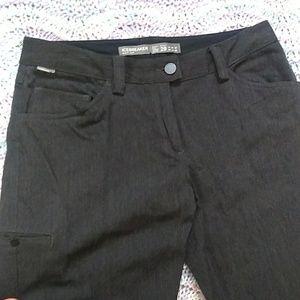 Icebreaker Charcoal Wool Cargo Trousers